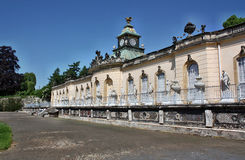 Palace in the park Sanssouci Royalty Free Stock Photography