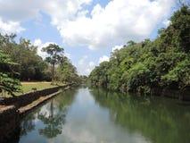 Palace park in Sigiriya Stock Images