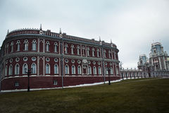 Palace. The palace in park Tsaritsyno Stock Images