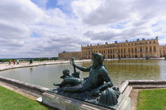 Palace and Park of Versailles, France Royalty Free Stock Photos