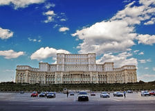 Palace of the Parliament. The Palace of the Parliament,Bucharest,Romania,2008 stock photos
