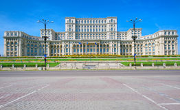 Palace Of The Parliament, Bucharest. Romania stock photos