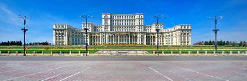 Palace Of The Parliament, Bucharest Stock Image