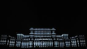 Palace of Parliament Bucharest. Palace of Parliament in Bucharest, another view.Imap 2015 Royalty Free Stock Image