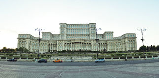 Palace of Parliament Royalty Free Stock Photography