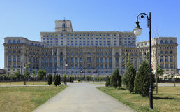 The Palace of the Parliament,Bucharest,Romania royalty free stock images