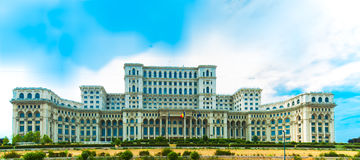 Palace of the Parliament, Bucharest, Romania. Royalty Free Stock Photos