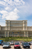 Palace of Parliament In Bucharest Stock Photography
