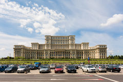 Palace of Parliament In Bucharest Royalty Free Stock Photo