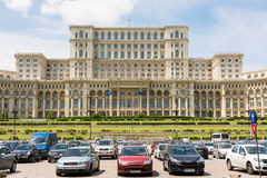 Palace of Parliament In Bucharest Royalty Free Stock Photography