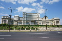 Palace of the Parliament - Bucharest Stock Images
