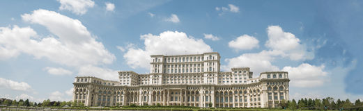 Palace of the Parliament - Bucharest, Romania Royalty Free Stock Images