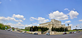 Palace of the Parliament Royalty Free Stock Images