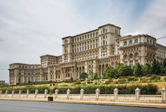 Palace of the Parliament of Romania in Bucharest. Romania Royalty Free Stock Images