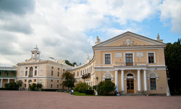 The Palace at Pavlovsk Royalty Free Stock Photos
