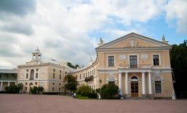 The Palace at Pavlovsk Royalty Free Stock Photos
