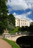 Palace in Pavlovsk park Royalty Free Stock Photos