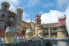 Palace of Pena Royalty Free Stock Photography