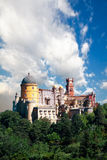Palace of Pena in Sintra, Portugal Royalty Free Stock Images