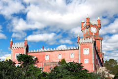 Palace of Pena in Sintra, Portugal Royalty Free Stock Photography