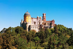Palace of Pena in Sintra, Portugal Stock Photos