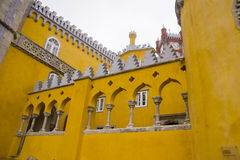Palace of Pena Sintra Portugal Stock Photo
