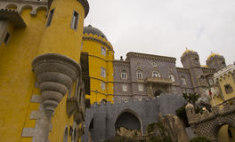 Palace of Pena Sintra Portugal Stock Photography
