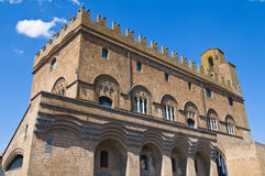 Palace of the people. Orvieto. Umbria. Italy. Royalty Free Stock Images