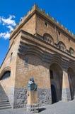 Palace of the people. Orvieto. Umbria. Italy. Stock Photos