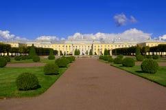Palace in Peterhof, Saint-Petersburg Royalty Free Stock Image