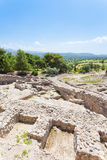 Palace of Phaistos Stock Photo