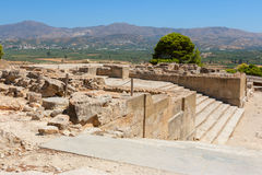 Palace of Phaistos. Crete, Greece Stock Images