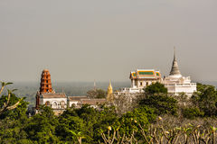 Palace Phra Nakhon Khiri Park. Is major attraction in Phetchaburi Thailand Stock Images