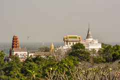 Palace Phra Nakhon Khiri Park. Is major attraction in Phetchaburi Thailand Royalty Free Stock Photos