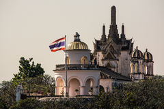 Palace Phra Nakhon Khiri Park. Is major attraction in Phetchaburi Thailand Stock Photography