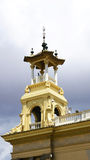 Palace pinnacle of Alfonso XIII and Maria Eugenia Stock Images