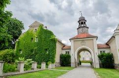 Palace in Poland Royalty Free Stock Photos