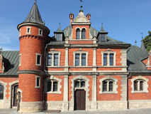 Palace in Poland Stock Photo