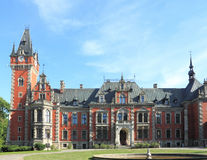 Palace in Poland Royalty Free Stock Photography
