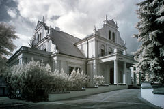 Palace in Pomarzanowice Royalty Free Stock Photography
