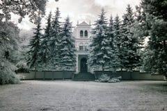 Palace in Pomarzanowice Royalty Free Stock Image