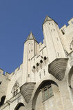 Palace of Popes in Avignon Stock Photos