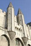 Palace of popes in Avignon Royalty Free Stock Photos