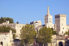 Palace of the Popes, Avignon, France Stock Photo