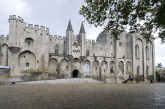 The palace of the popes in Avignon Royalty Free Stock Image