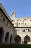 Palace of the popes (Palais des Papes) in Avignon Royalty Free Stock Photos