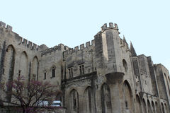 Palace of the popes (Palais des Papes) in Avignon Royalty Free Stock Image
