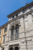 Palace of the Poste. Parma. Emilia- Romagna. Italy Royalty Free Stock Images