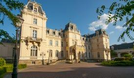 Palace Pototskih outside Stock Image