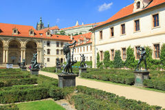 Palace in Prague Royalty Free Stock Photography